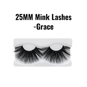 25mm 3d mink lashes Grace