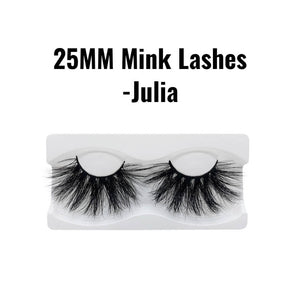 25mm 3d mink lashes Julia