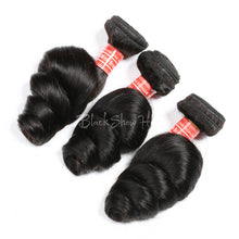 Mink Brazilian Hair Loose Wave Bundles - Black Show Hair