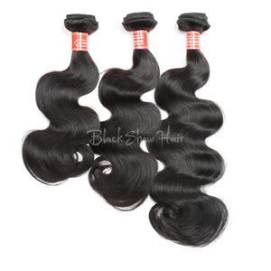 Mink Brazilian Body Wave Hair Extension - Black Show Hair