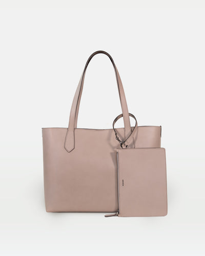 MODHER tote bag in Argilla vegetable tanned Italian leather#color_argilla