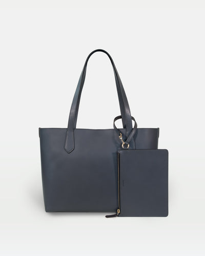 MODHER tote bag in Elephant vegetable tanned Italian leather#color_elephant