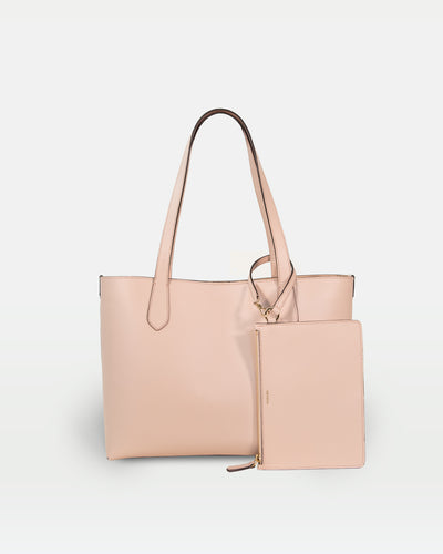 MODHER tote bag in Rosa vegetable tanned Italian leather#color_rosa