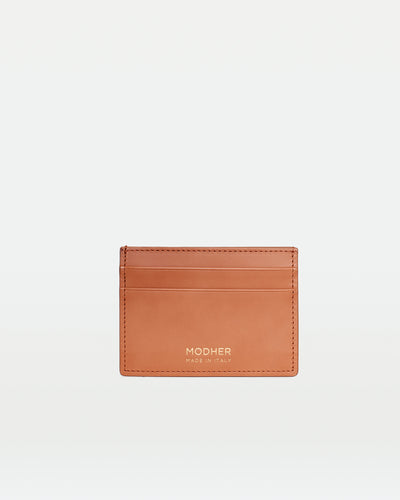MODHER Leather Credit Card Slip#color_naturale