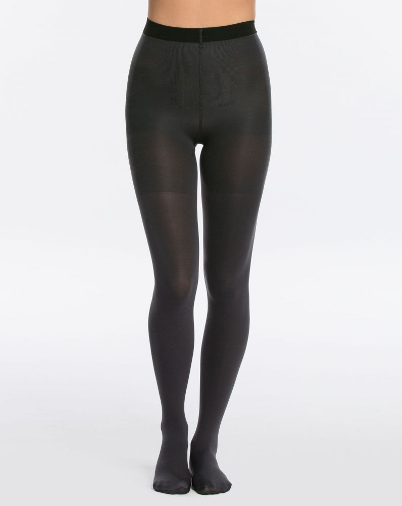 SPANX Reversible Tights -Black/Charcoal