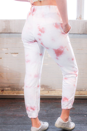 Baked Rose Tie-Dye Joggers