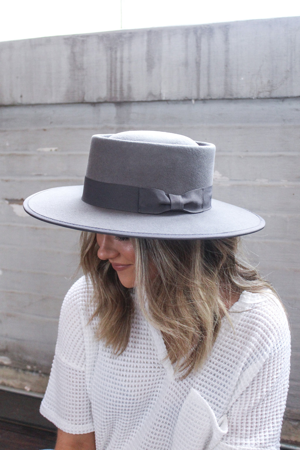 Vida Grey Gambler Hat