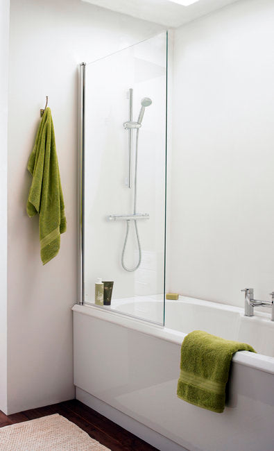 Nssq3 Prima  Bath Screen 1400X800mm - Rectangular (6mm)