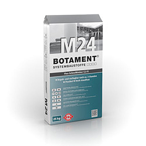 Botament M24 P Fast Set Grey 25 KG Bag