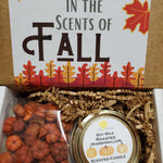 Falling Leaves Perfectly Scented Gift Box - Candle and Potpourri Set-TCB