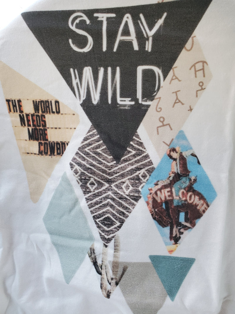 1269 - Stay Wild graphic tee