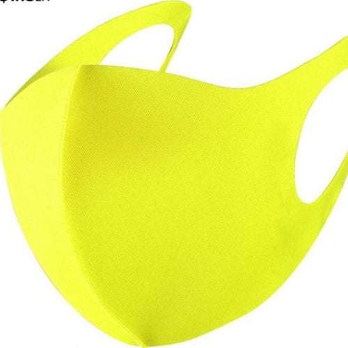 193 Neon Yellow Facial Covering-TCB