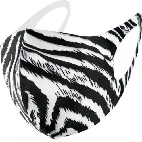 197 Zebra Print Facial Covering-TCB