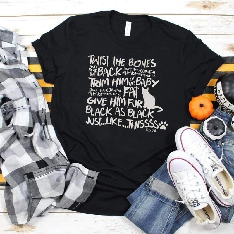 Twist the Bones Halloween Tee - Small to 3x-TCB