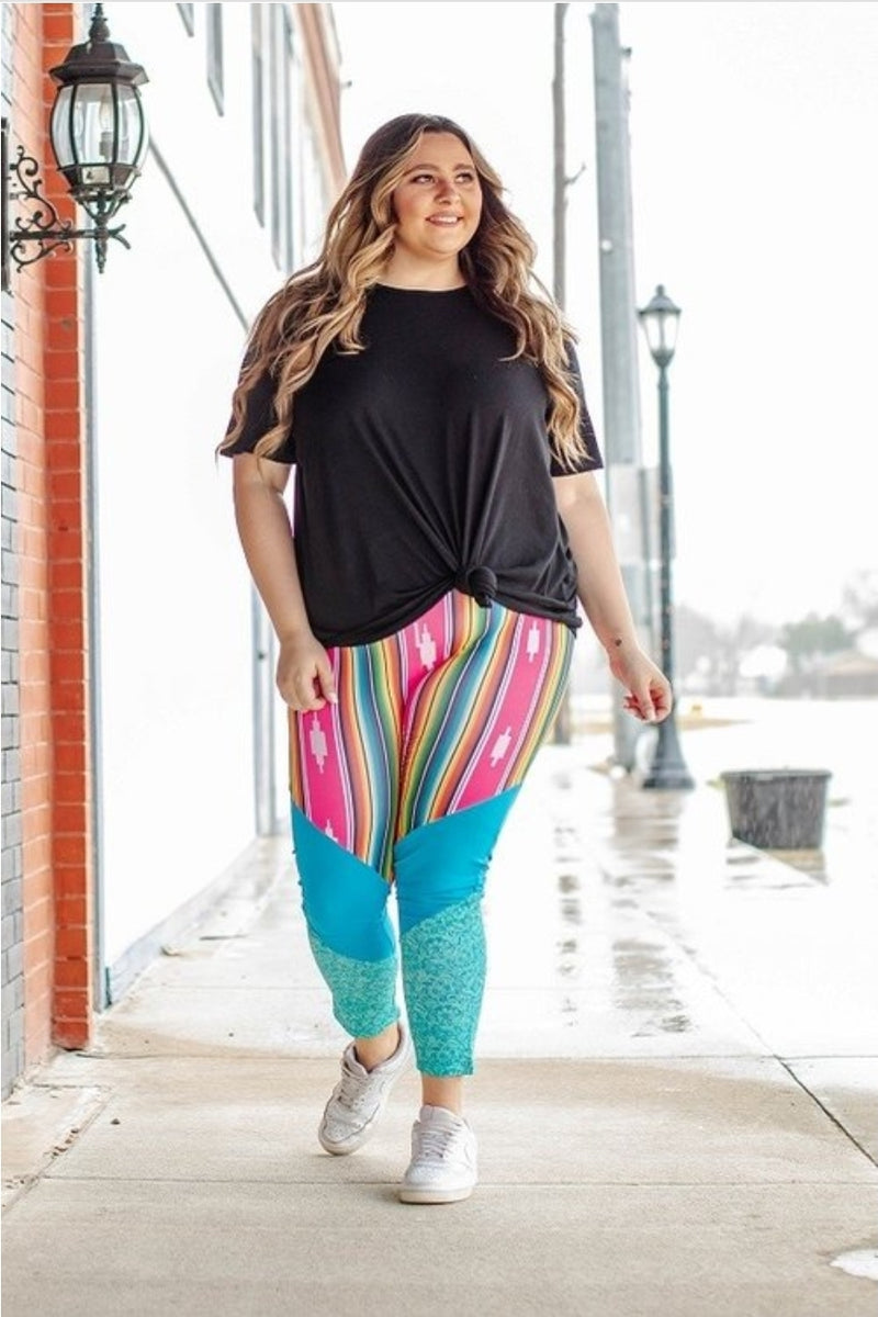 968 - Aztec Queen Athletic Pants - Small to 3x