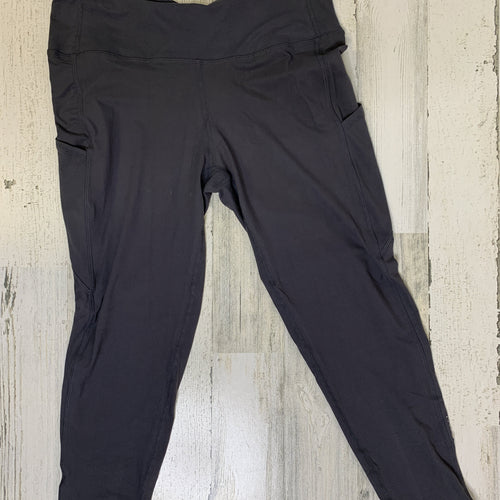Tiffany Cagle Boutique-Charcoal Gray Ankle Length Athletic Pants-TCB