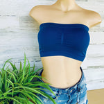 155 - Seamless Bandeau Bralette - One size up to XL-TCB