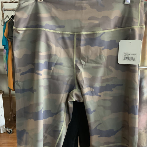 208 Camouflage active athletic shorts-TCB