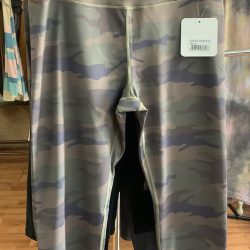 205 Camouflage active athletic pants-PLUS-TCB