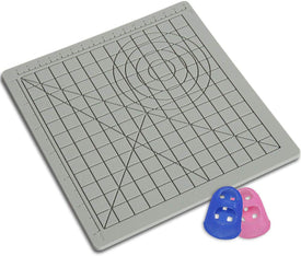 3D Silicone Design Mat with Basic Template, with 2 Silicone Finger Caps, 3D Pens Drawing Tools for Kids and 3D Pen Artists