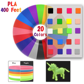 PLA 3D Filament Refills Works With All 3D Pen Use 1.75mm Diameter