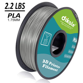 Gray 1kg Spool 3D Pen & Printer PLA  Filament Refills