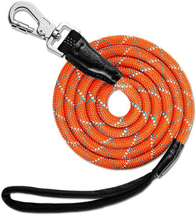 iBuddy Heavy Duty Dog Leashes for Medium and Large Dogs