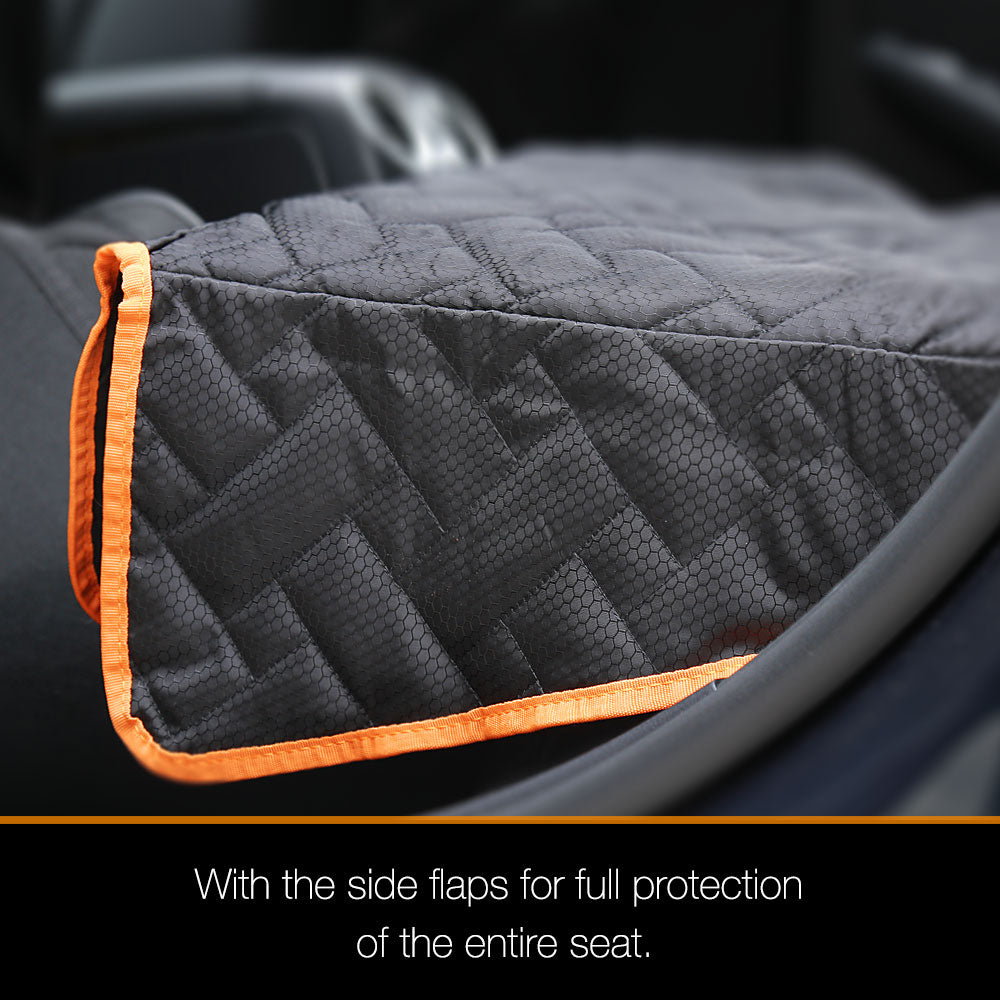 iBuddy Bench Seat Cover/Protector for Kids, Dog Back Seat Cover for Cars and SUVs