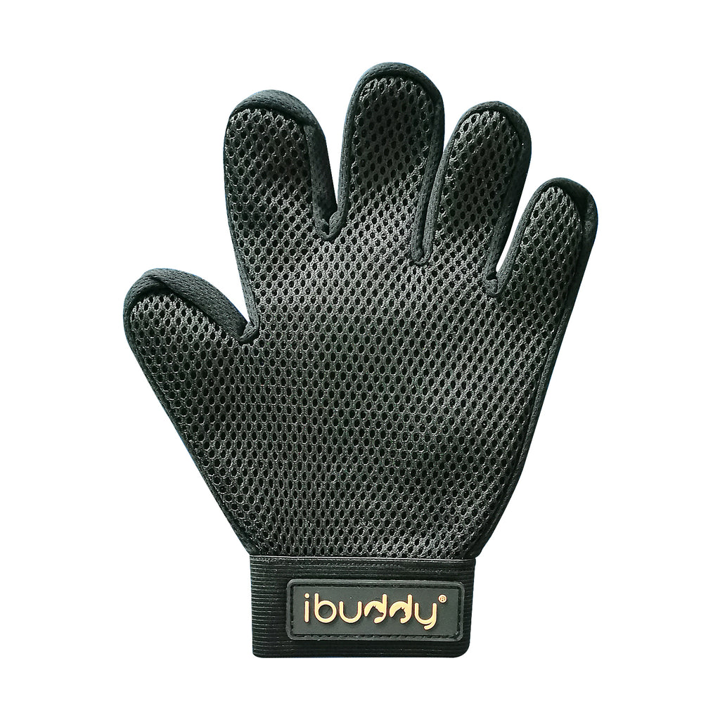 iBuddy Pet Hair Remover/Animal Grooming Glove for Dogs/Cats