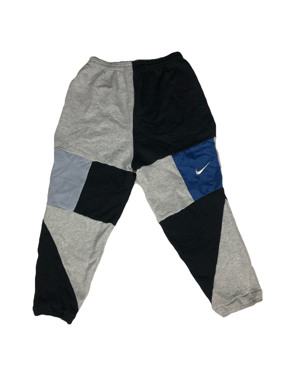 Reworked Nike Patchwork Joggers