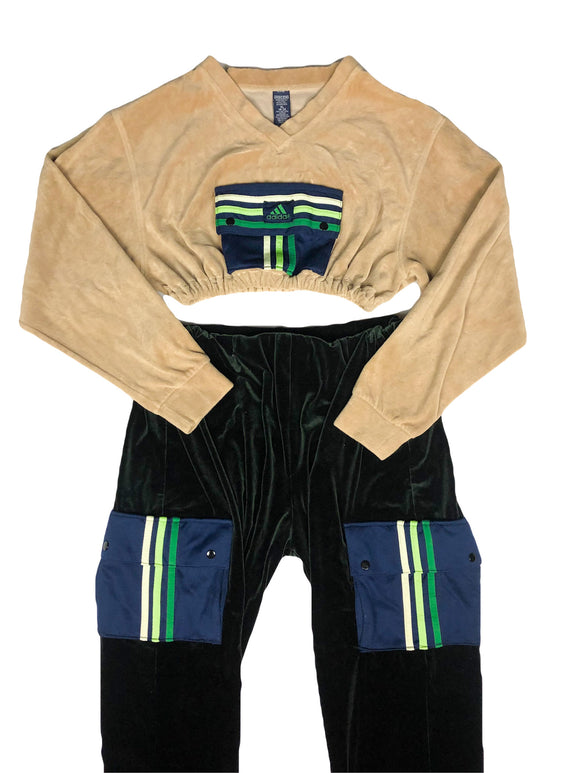 Reworked Adidas Jogger Set
