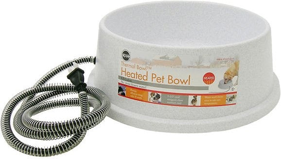 K&H Pet Products Pet Thermal Bowl