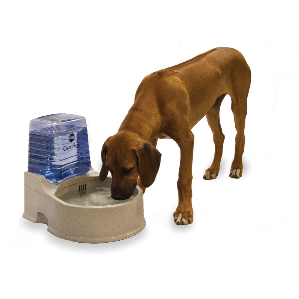 K&H Pet Products Clean Flow Pet Bowl with Reservoir