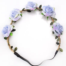 Load image into Gallery viewer, Rose Flower Headband