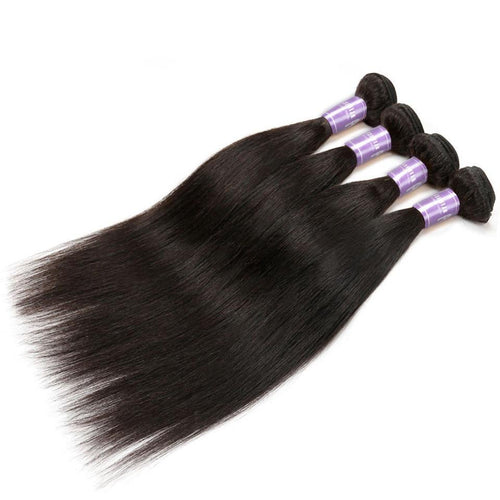 Straight Human Hair Weave Bundles
