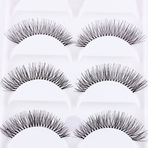Cross Eye Lashes Extension