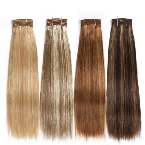 Double Drawn Human Hair Bundles