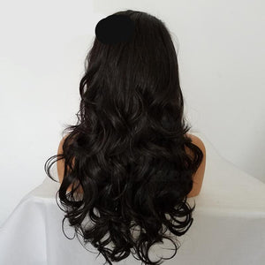 Lace Wig Glue less Brown Color