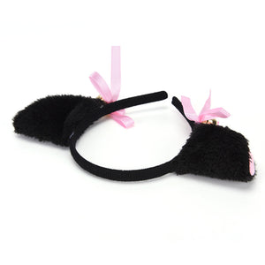 Bell Fox Cat Hairband