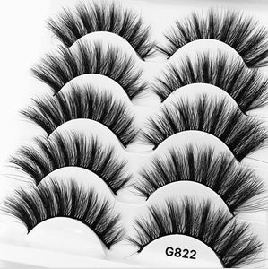 Long Cross Volume Soft Eyelash