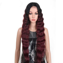 Load image into Gallery viewer, Hair Long Deep Wavy T Lace