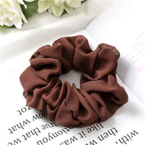 Hair Scrunchies Elastic Hair Ties