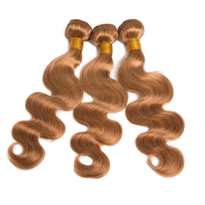 Blonde Brazilian Hair Weave Bundles