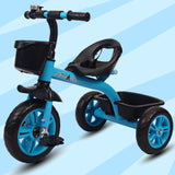 Refurbished - Little Olive Bugs Bunny Baby Tricycle for Kids, 1-4 Years (Blue)