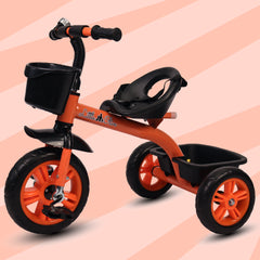 Refurbished- Little Olive Bugs Bunny Baby Tricycle for Kids, 1-4 Years (Orange)