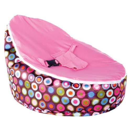 Baby Bean Bag | Pink Polka Dotted