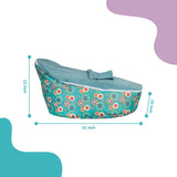 Baby Bean Bag | Sea Green Polka Dots