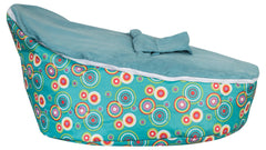 Smart Baby Bean Bag | Sea Green Polka Dots
