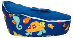 Smart Baby Bean Bag | Blue Marine Animals