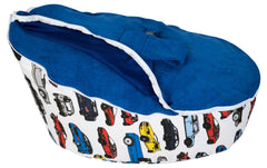 Smart Baby Bean Bag | Blue Cars